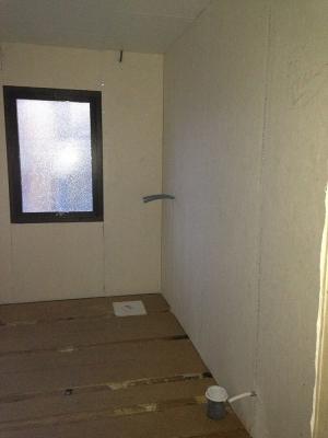 Underarbete med golv o väggskivor